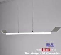 New modern simple led pendant light black and white series craft dinner room light D900mm