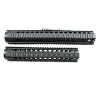 Free Shipping Tactical T-Serie 4/15 Free Float 15 Inch Handguard Quad Rail Scope Mount