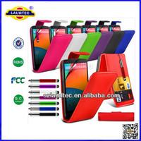 300pcs/lot PU Leather Flip Cover for Nokia Lumia 830 Back Case for Nokia 830 Laudtec