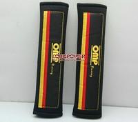 2014 NEW OMP Racing Car  Seat Belt Shoulder Pad Seat Belt Pad  Black