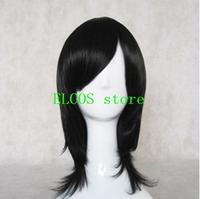 Bleach Kuchiki Rukia 45cm black Cosplay wig