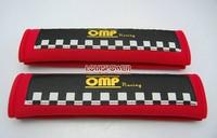 2014 NEW OMP Racing Car  Seat Belt Shoulder Pad Seat Belt Pad  Racing Black