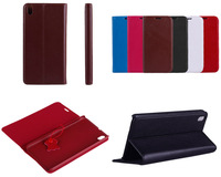 100% genuine leather for HTC Desire 816 Leather Case Flip cover + free shipping