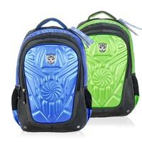 Environmental EVA Transformers bags boys backpacks for children school bags 2014 new blue yellow mochilas T0035