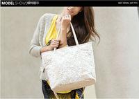 New winter handbags Korean fashion boutique ladies lace crochet bag diagonal shoulder bag