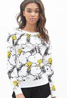 2014 New fashion Europe Women cute cartoon printed Sweatshirt Lady casual fashion sport pullover #J416