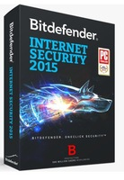 BitDefender Internet Security 2015 2014/ 1year 3PCs/3 users 365 days newest version 3 computers best price and quality