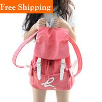 Canvas Backpack Girls School Bags For Teenagers Back Pack For Women Mochilas School Kids Pink Black Blue Chinlon Rucksack