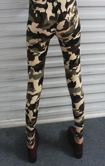 Восток вязание A34 harajuku стиль камуфляж одежда женщины брюки армейское принт леггинсы