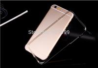 Free Shipping!5000PCS Soft Clear Silicone TPU Gel Skin Clear Case For iPhone 6 Plus,Transparent TPU Gel Case for iPhone6 Plus