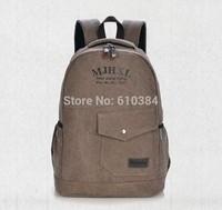 Backpacks Canvas Bag Men Sport Zipper Tote Luggage Travel Bags Ladies Khaki Laptop Bag For Women
