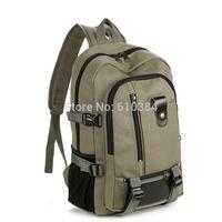 Women's/Men's Canvas Backpack Shoulder Bag Student Schoolbag Satchels Multi Colors Large Zipper