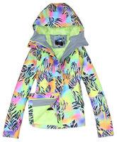 2014 Gsou Snow womens zebra ski jacket leopard snowboard jacket ladies waterproof breathable colorful snow parka skiwear anorak