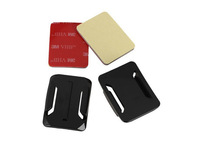Gopro Accessories GP10 2x Flat Mount 2x Curved Mounts With 3M Adhesive Pads For GoPro Hero 3+/3/2/1 Free Shipping