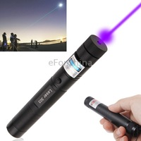 100mw 405nm Purple Beam Laser Pointer with Extension Tube Free Shipping