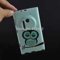 Case for Nokia Lumia 1020,Cute Cartoon Owl Bird Soft TPU Shell Skin Cover Case