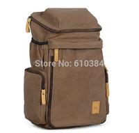 Travelling Backpack Canvas VINTAGE Khaki Canvas CONVERTIBLE Backpack Hiking Bag Sport Travelling