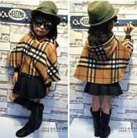 RQQ  children's clothing wholesale girls plus Velvet Cloak winter high-grade A5573 2.06 Christmas