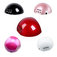 5 colors Nail Dryer Curing Lamp Machine for UV Gel Nail Polish tools led nail lamp art 15W 100-240V LED CCFL