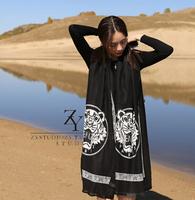 Reital Tiger  Men Women quality scarf super   fashion Cashmere  woolen winter scarf  bandana  famous brand Shawl