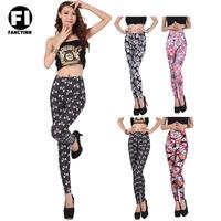 Fancyinn 2014  New Leggings For Women Casual Winter  Keep Warm Legging Flower Print Skinny Girl Pants