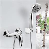 Bathroom Exposed Bath & Shower Faucets Hot Cold Mixers Shower Hotels Single Handle Shower Set torneira chuveiro banheiro ducha