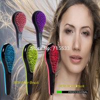 Free Shipping Detangle M Mercier Massage Comb Tangle Anti-Static TT Comb British Queen Brush Detangle Brush Pink