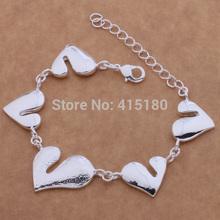 AB064 True LOVE Bracelets 925 Silver BRACELET ,Wholesale Fashion silver jewelry ,Newly Fashion Jewelry Free shipping!