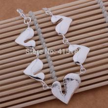 AB064 True LOVE Bracelets 925 Silver BRACELET Wholesale Fashion silver jewelry Newly Fashion Jewelry Free shipping