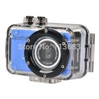 New M200 Sport Action Camera HD 720P 20M Sports Action Helmet Mini Digital DVR Camera Waterproof Free Shipping