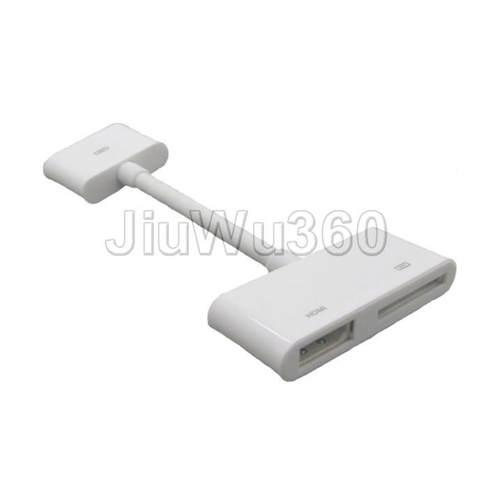 Digital AV HDTV Adapter 30 Pin Dock Connector Adapter to HDMI for Apple iPod(China (Mainland))
