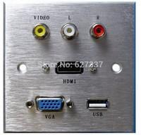 multifunctional information av HDMI socket
