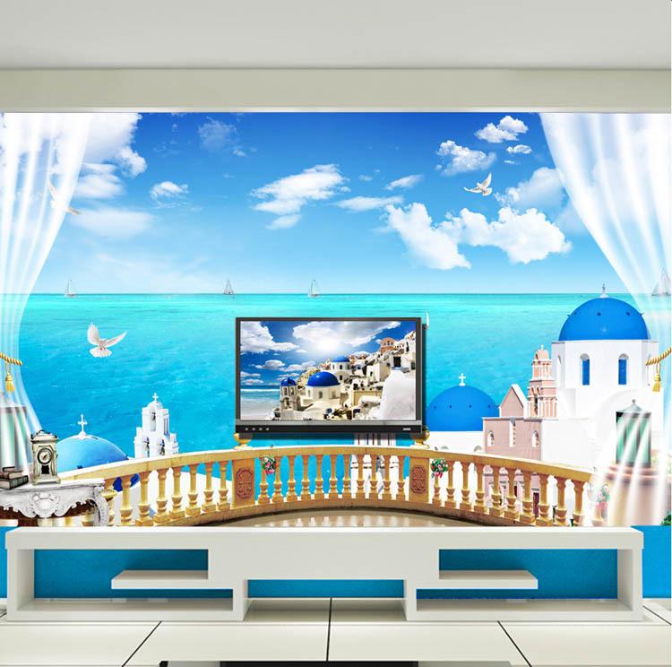 tv Set Wallpaper tv Sitting Room Setting