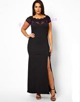 2014 new fashion Europe and the United States plus Xl XXL XXXL dress