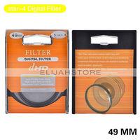 49mm Star +4+6+8 Digital Filter Lens Protector for all 49mm Canon Nikon DSLR SLR Camera Free Shipping