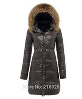 Cold Polar Winter Jacket Women Warm Thick Goose Down Coat Fashion Women's Clothing Fur Collar Coat Long Parka Femme Jumper