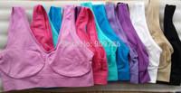 China post free shipping 1pcs/lot ahh bra Rhonda Shear Seamless Leisure Bra small vest 9 colors available
