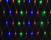 AC220V 1.5*1.5m/pc 4W/pc 96leds/pc rgby/red/yellow/blue/green/white/warm white led christmas decoration string net light