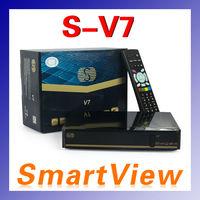 Origianl SKYBOX V7 Digital Satellite Receiver S V7 S-V7 AV output VFD Support WEB TV 3G USB Wifi Biss Key Youporn CCCAMD NEWCAMD