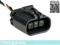 "longyue 20pcs 3 way KA24DE Oxygen O2 Sensor Connector Pigtail 6"""