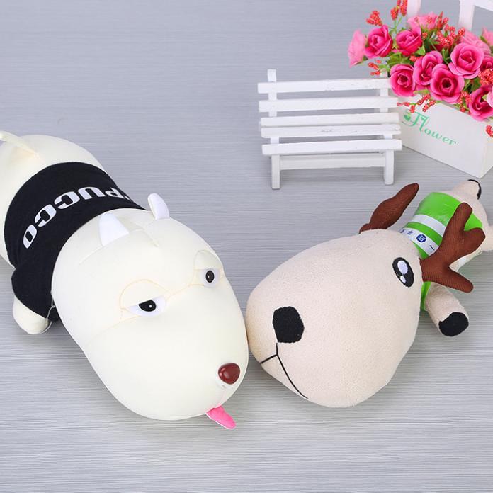 2014 Fashion Cartoon Odor Bamboo Charcoal Bag Cute Decoration Long Mouth Dog Adsorb Odor Adjust Humidity Car Air Fresher Cleaner(China (Mainland))