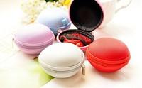 Mini 8CM Round Candy Colors Canvas Coin Purse Wallet Case ; Storage & Keys BAG Holder Case Wallet Pouch Women Handbag Pouch