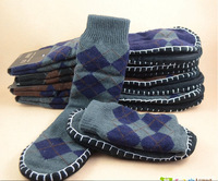 New! Knitted indoor floor shoes Man slippers autumn and winter home floor socks warm shoes Crochet Socks  Chinelo Pantufa Retail