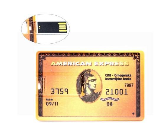2014 New American Express Credit Card Model usb 2.0 memory flash stick pendrive Genuine 4gb/8gb/16gb/32gb freeshipping(China (Mainland))