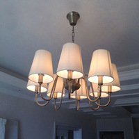 Modern crystal pendant lamp light crystal Chandeliers lamp dining  living room Lobby lamp  E14 LED CANDLE BULB Lighting Fixture