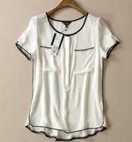 Quality Brand Female Blouse Shirt Roupas Blusas Femininas Shirt Clothing Women Top White Body Tops Camisas Chiffon Casual Blouse