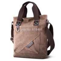 men and men's business bag canvas handbag shoulder bag leisure fashion male Messenger bag