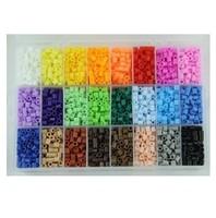 Free shipping fedexIE 80set/lot 5mm hama beads 24 colors 5500pcs box set fuse/perler beads diy educational toys craft