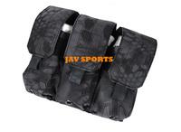 TMC Triple M4 Mag Pouch In Kryptek Typhon Night Prowls Camo+Free shipping(SKU12050400)