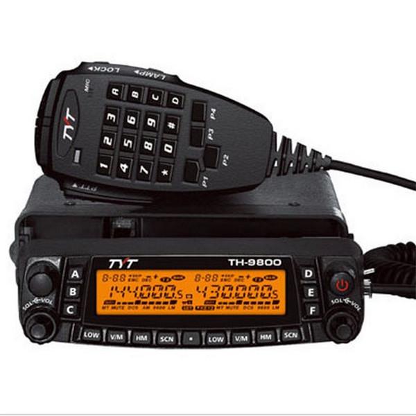 Vehicle Radio Car Radio TYT TH-9800 VHF50W UHF35W 800CH Quad Band Transceiver Cross-band Dual Display screen Mobile Radio th9800(China (Mainland))